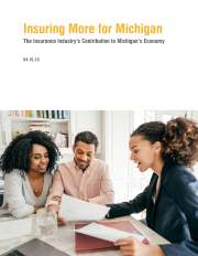 Cover of Insuring More for Michigan